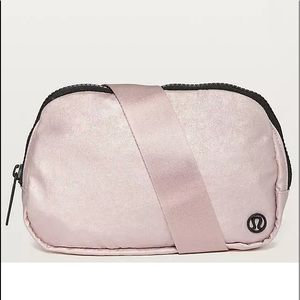 RARE Lululemon Everywhere TB2 PINK Belt Waist Bag